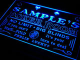 Poker Casino Room Name Personalized Custom LED Sign -  - TheLedHeroes