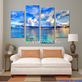 Barrier Reef 4 Pcs Wall Canvas