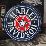 Harley Davidson Bottle Cap 35X35 cm Tin Sign -  - TheLedHeroes