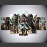 Assassin's Creed 2 - 5 Pcs Wall Canvas -  - TheLedHeroes