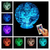 Star Wars Rogue One Death Star 3D LED LAMP -  - TheLedHeroes