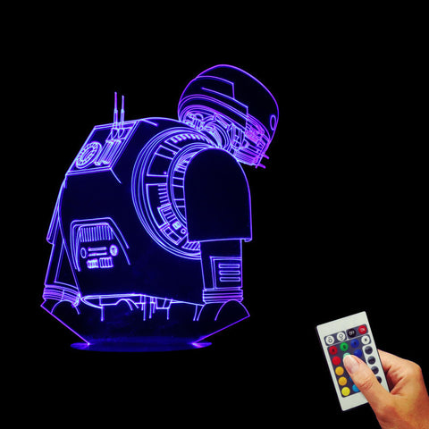 Star Wars Rogue One K-2SO Droid 3D LED LAMP