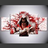Assassin's Creed  5 Pcs Wall Canvas