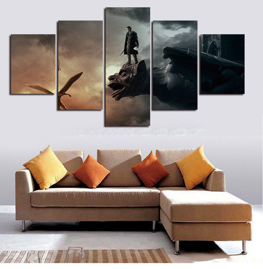 The Sorcerer's Apprentice 5 Pcs Wall Canvas -  - TheLedHeroes