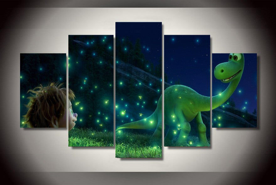 Arlo's Adventure 5 Pcs Wall Canvas -  - TheLedHeroes
