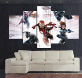 Avengers 2 - 5 Pcs Wall Canvas