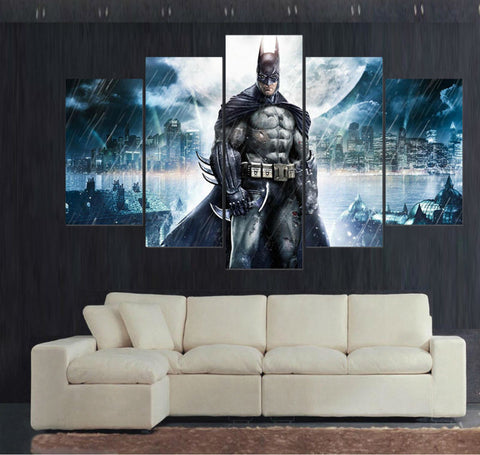 Batman DC Comics 5 Pcs Wall Canvas -  - TheLedHeroes