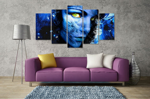 Avatar Grace character 5 Pcs Wall Canvas