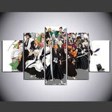 Annimated Cartoons 5 Pcs Wall Canvas -  - TheLedHeroes
