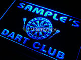 Dart Club Name Personalized Custom LED Sign