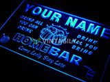 Family Home Brew Mug Cheers Name Personalized Custom LED Sign