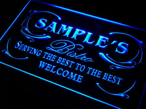 Best Bistro Name Personalized Custom LED Sign -  - TheLedHeroes