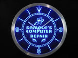Computer Repair Shop LED Wall Clock -  - TheLedHeroes