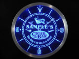 Cigar Pipe Bar Lounge LED Wall Clock -  - TheLedHeroes