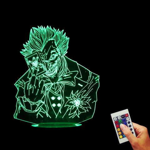 Jack Batman Joker 3D LED LAMP -  - TheLedHeroes