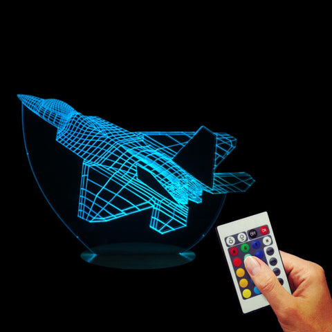 Aircraft Warplanes 3D LED LAMP -  - TheLedHeroes