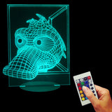 Crocodile 3D LED LAMP -  - TheLedHeroes