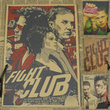 Retro Fight Club Poster -  - TheLedHeroes