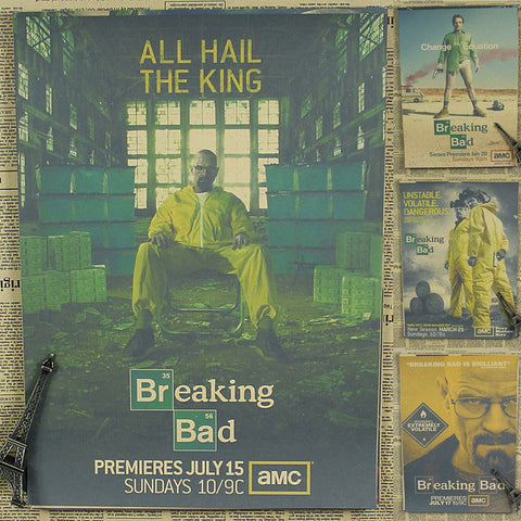 Breaking Bad Wall Poster
