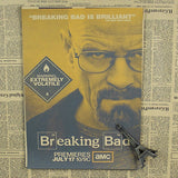 Breaking Bad Wall Poster - Blue - TheLedHeroes