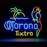 Corona Extra Parrot Neon Bulbs Sign 19x15