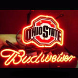 New Ohio State Budweiser Neon Bulbs Sign 17x14 -  - TheLedHeroes