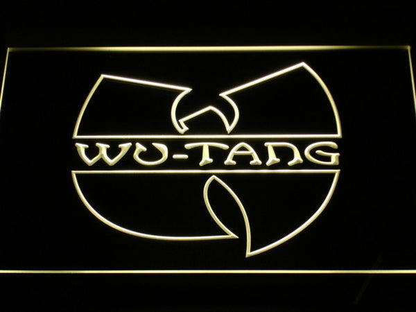 Wu Tang Band Beer Bar LED Neon Sign with On/Off Switch 7 Colors to choose Plastic Crafts