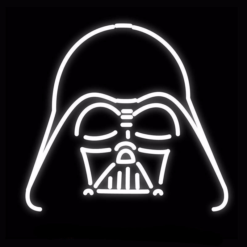 Darth Vader Star Wars Neon Bulbs Sign 18x18 -  - TheLedHeroes