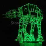 All Terrain Armored Transport 3D LED LAMP