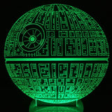Death Star 3D LED LAMP -  - TheLedHeroes