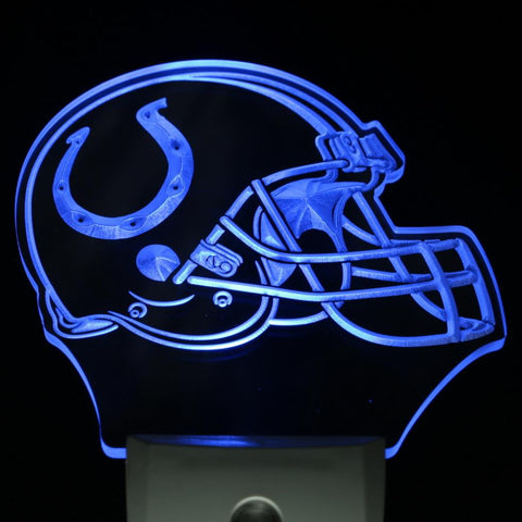 Indianapolis Colts Helmet Bar Day/ Night Sensor Led Night Light Sign