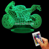 Motorcycle 3D LED LAMP -  - TheLedHeroes