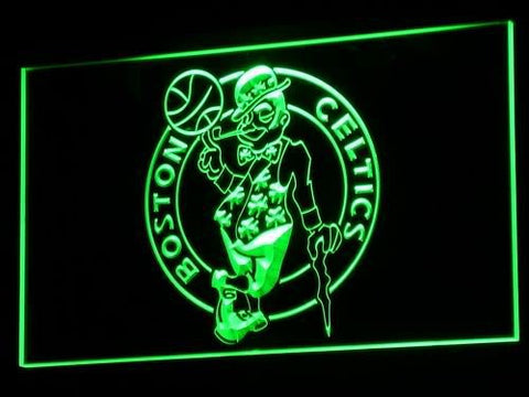 Boston Celtics LED Sign - Green - TheLedHeroes