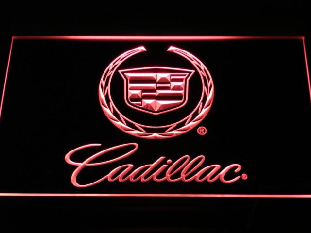 Cadillac LED Neon Sign Electrical - Red - TheLedHeroes