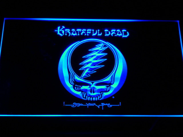Grateful Dead LED Sign - Blue - TheLedHeroes