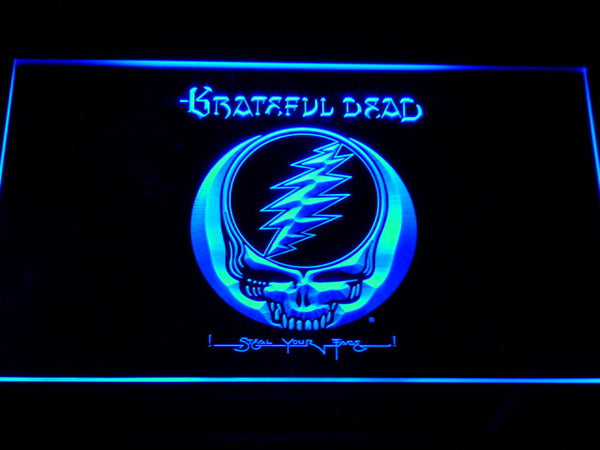 Grateful Dead LED Neon Sign with On/Off Switch 7 Colors to choose