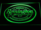 Remington Firearms Hunting Gun LED Sign - Green - TheLedHeroes