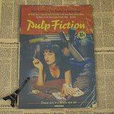 Vintage Pulp Fiction Wall Decor