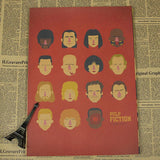 Vintage Pulp Fiction Wall Decor - Gold - TheLedHeroes