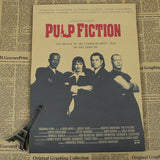 Vintage Pulp Fiction Wall Decor - Transparent - TheLedHeroes