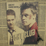 Retro Fight Club Poster - Blue - TheLedHeroes