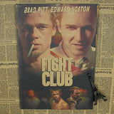 Retro Fight Club Poster - Gold - TheLedHeroes