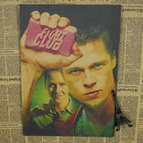 Retro Fight Club Poster - Green - TheLedHeroes