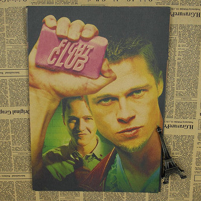 Retro Fight Club Poster
