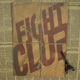 Retro Fight Club Poster - Purple - TheLedHeroes