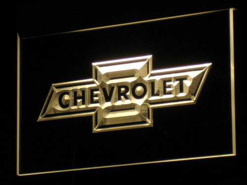 CHEVROLET 2 LED Sign - Multicolor - TheLedHeroes