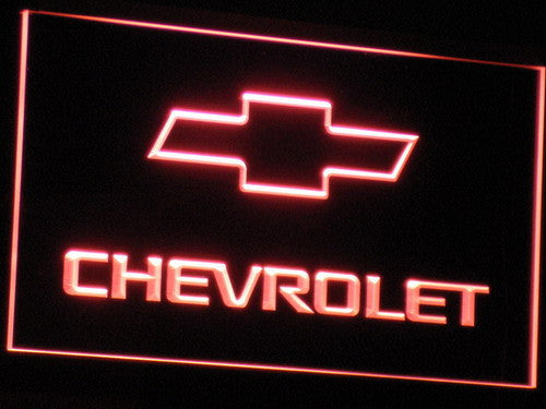 CHEVROLET LED Sign - Red - TheLedHeroes