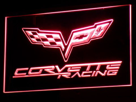 Chevrolet Corvette Racing LED Sign -  - TheLedHeroes