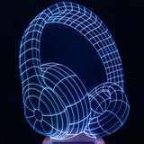 Headphones 3D LED LAMP -  - TheLedHeroes