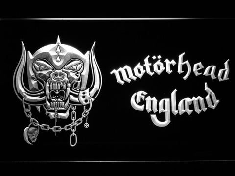 Motorhead England LED Neon Sign with On/Off Switch 7 Colors to choose